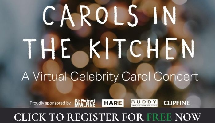 Carols in the Kitchen and Women in Family Law - 20 December 2020 @ 4pm