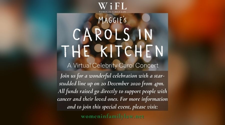 WiFL Is Proud to Support Carols in the Kitchen for Maggie's Centres